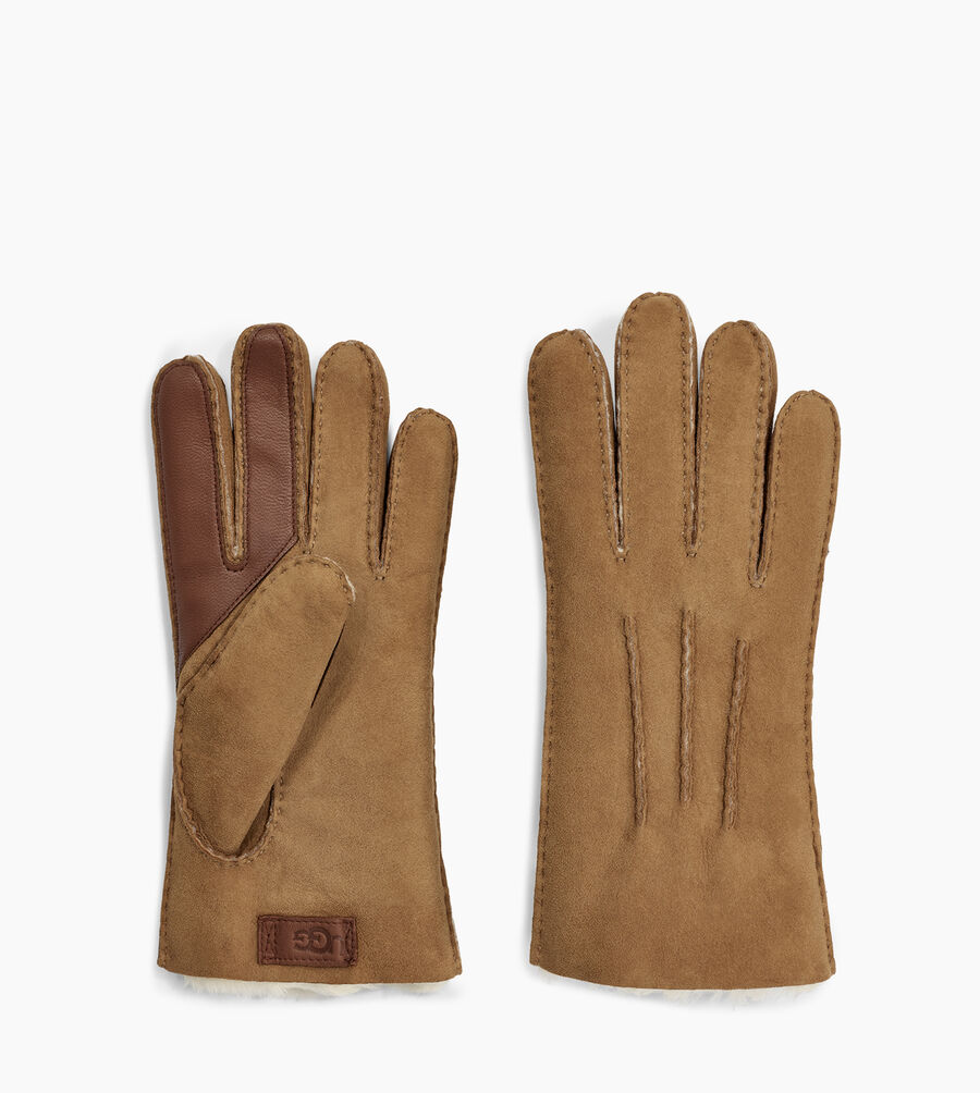 Contrast Sheepskin Tech Glove - Image 2 of 2