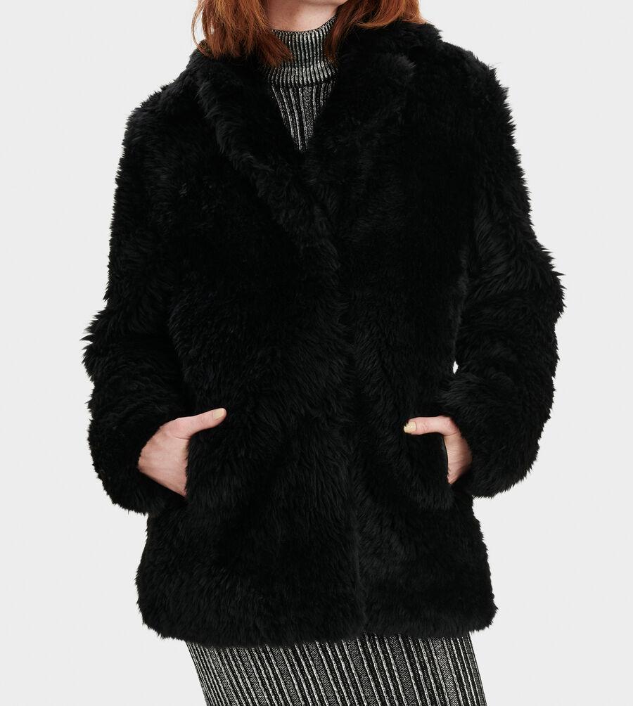 Lianna Short Shearling Coat - Image 3 of 4