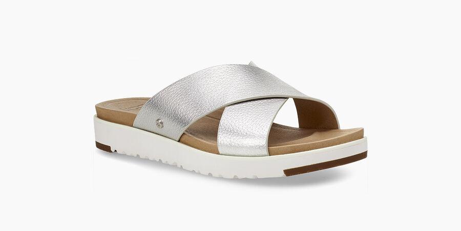 Kari Metallic Sandal  - Image 2 of 6