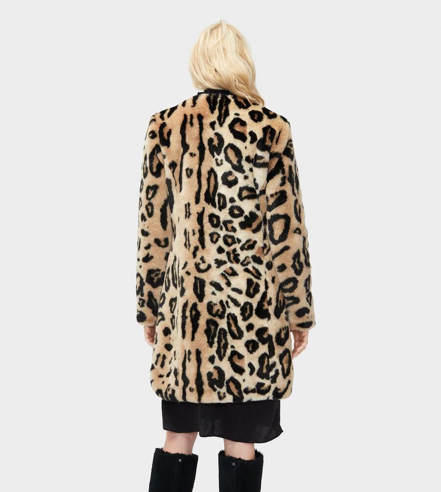 Lisabeth Faux Fur Coat - Image 2 of 3