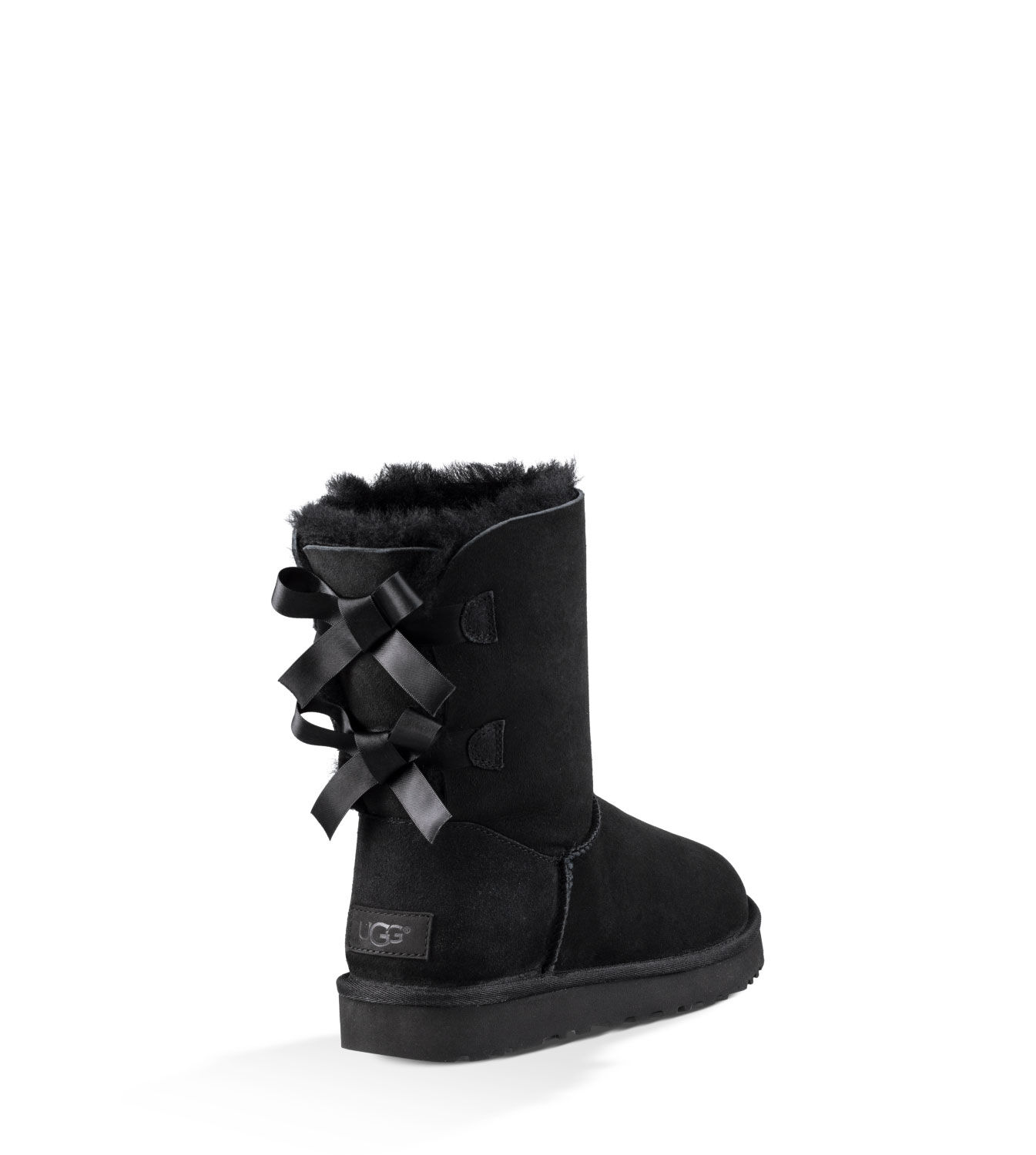 black short bow uggs