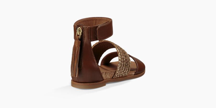 Marabel Metallic Sandal - Image 4 of 6