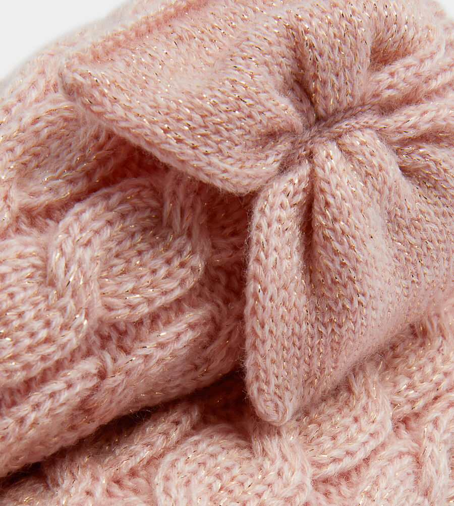 Laila Bow Fleece Lined Sock - Image 2 of 2