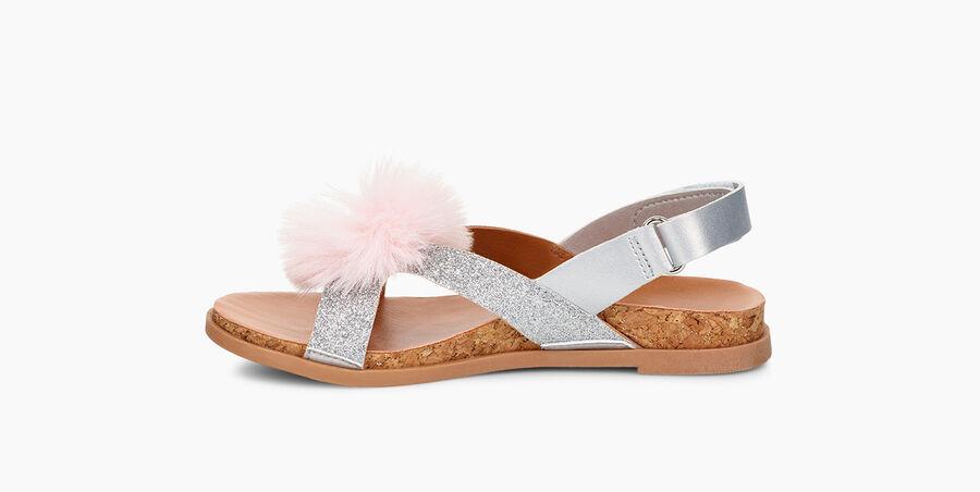 Fonda Glitter Pom Sandal - Image 3 of 6