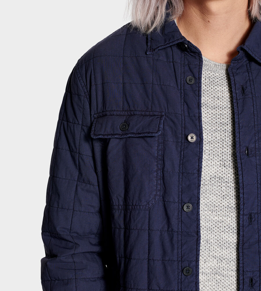 Trent Quilted Shirt Jacket - Image 5 of 6