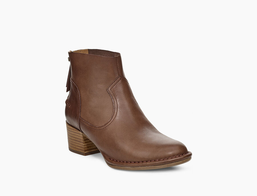 Bandara Ankle Boot Leather - Image 2 of 6