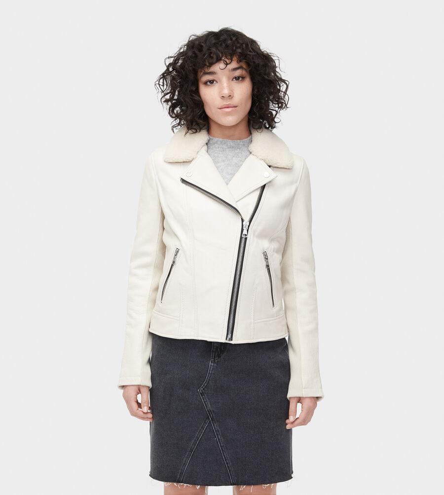 Andee Leather Cycle Jacket - Image 1 of 6