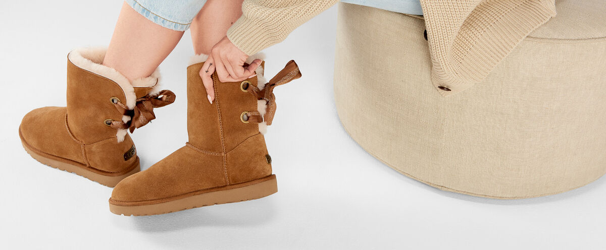 Customizable Bailey Bow Short Boot - Lifestyle image 1 of 1