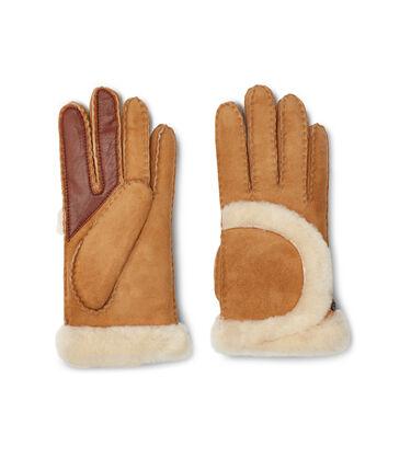 Sheepskin Exposed Seam Glove Alternative View