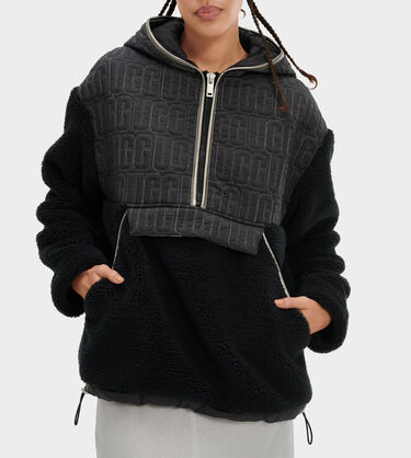 Iggy Sherpa Half Zip Pullover Alternative View