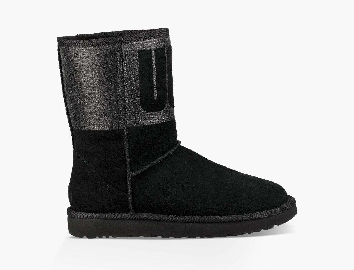women s classic short ugg sparkle boot ugg official rh ugg com