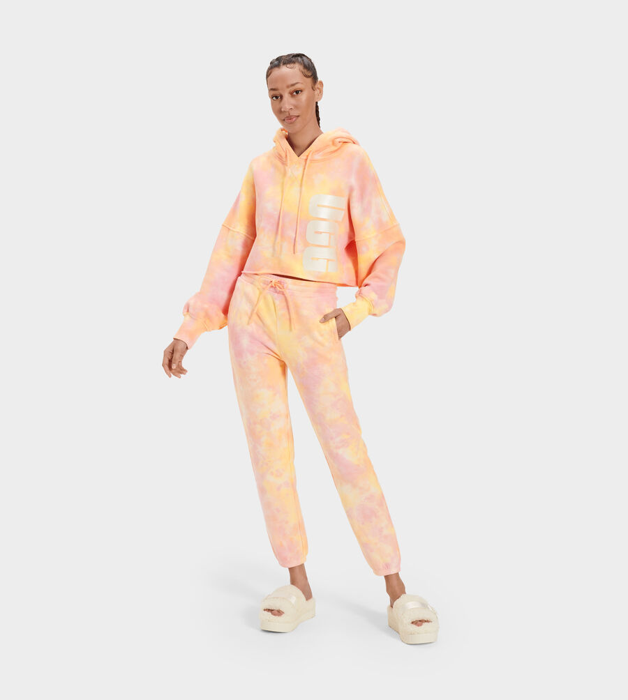 Keira Cropped Hoodie Tie Dye - Image 2 of 5