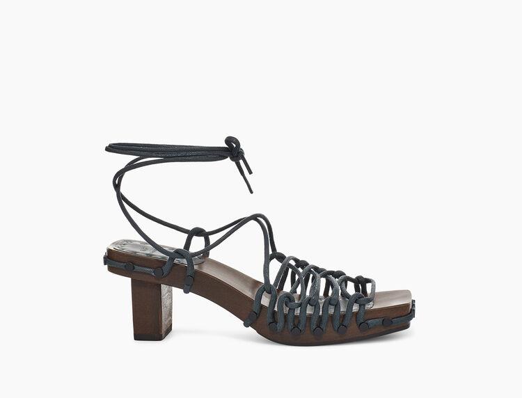 UGG + Eckhaus Latta Lace On Lace Sandal