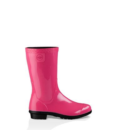 어그 빅키즈 라나 레인 부츠 UGG Raana Rain Boot,DIVA PINK