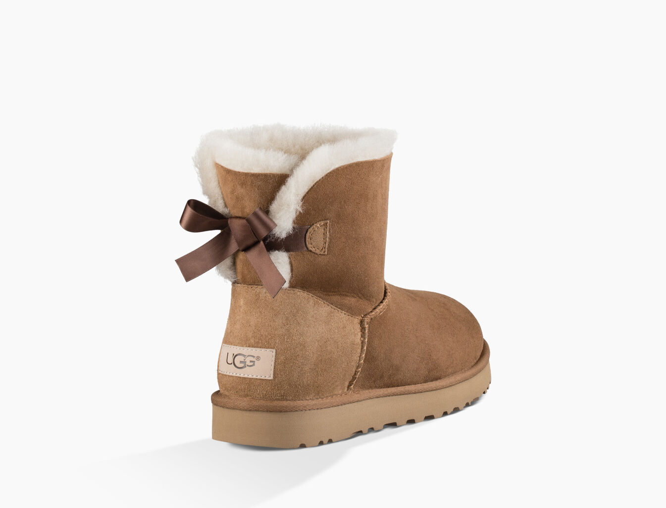 ugg tall bailey knit bow