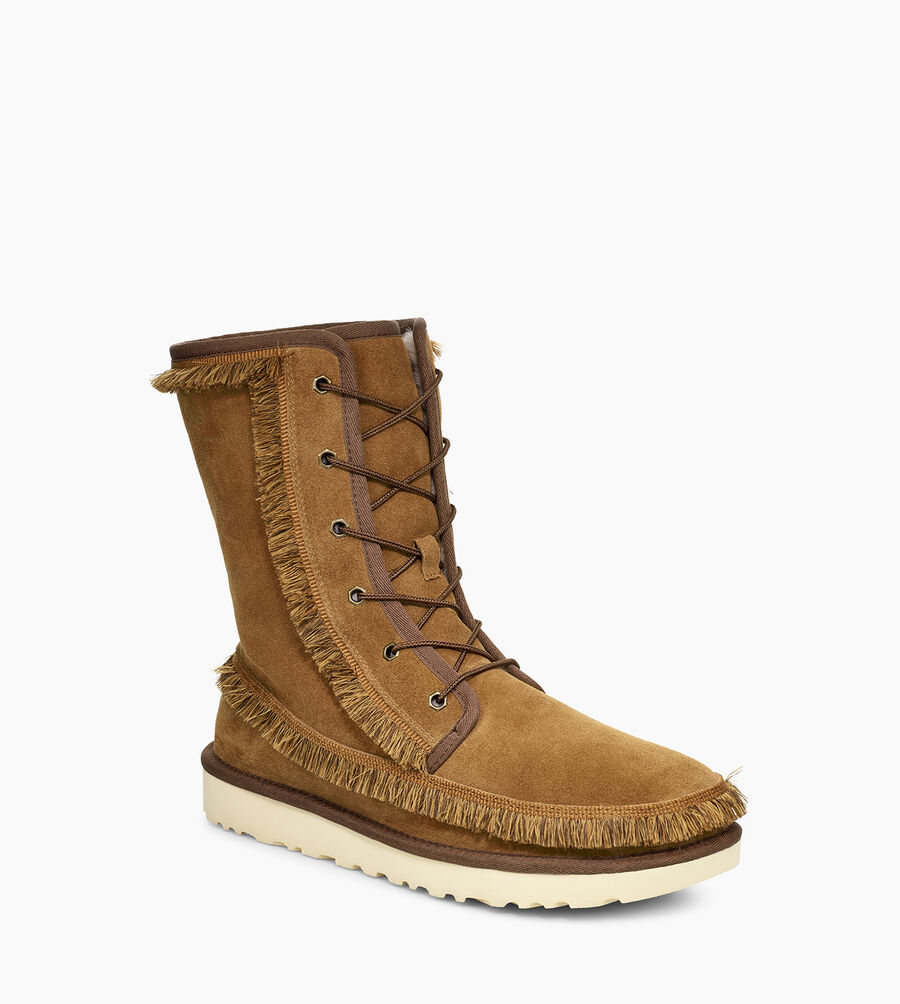 Riki Lace Tall White Mountaineering Boot - Image 2 of 6