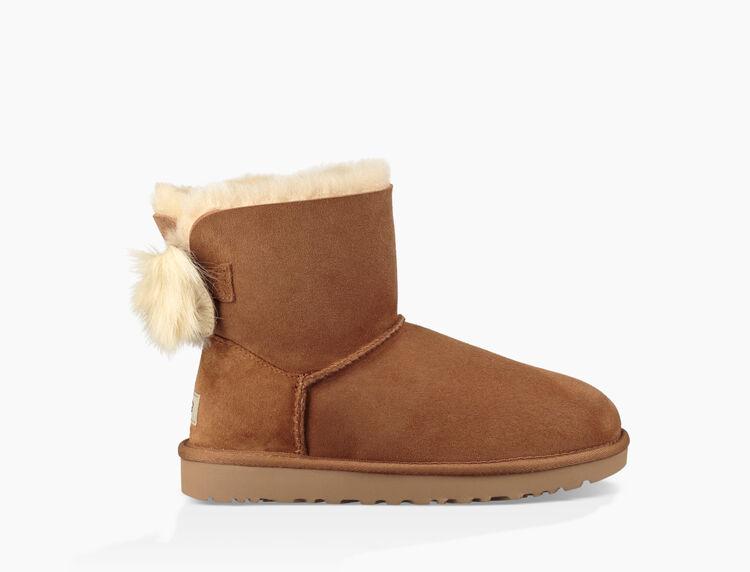 Classic Mini Fluff Bow Boot