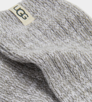 Rib Knit Slouchy Crew Sock Alternative View