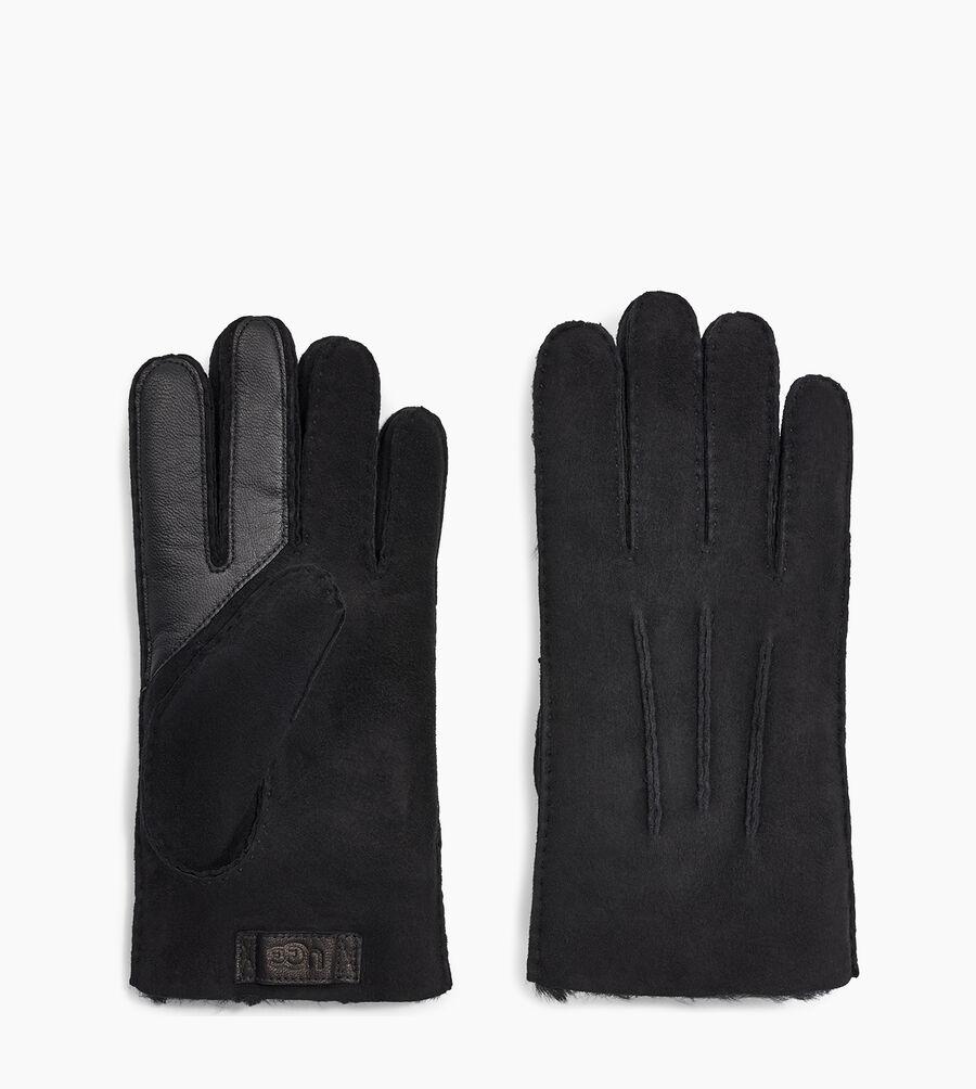 Contrast Sheepskin Tech Glove - Image 2 of 2