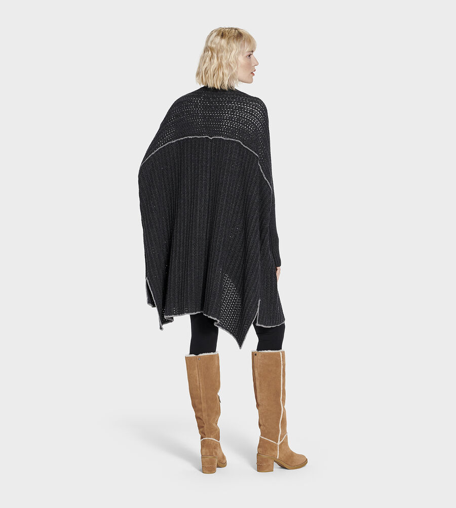 Riley Sweater Poncho - Image 3 of 6