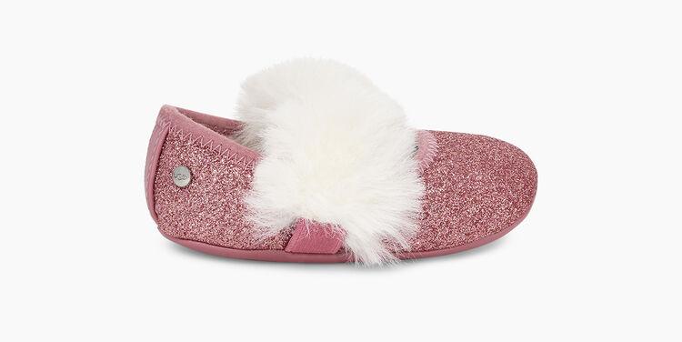Fluff Glitter Ballet Flat