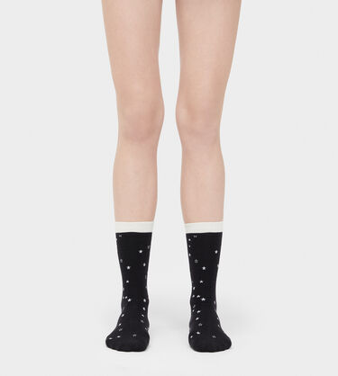 Merino Wool Star Crew Sock