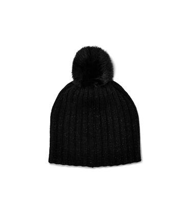 Pippa Rib Knit Pom Hat Alternative View