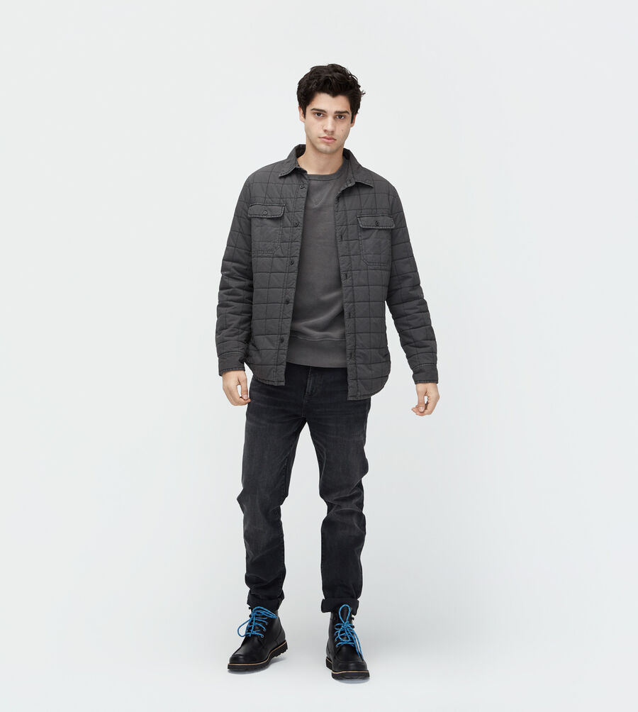 Trent Quilted Shirt Jacket - Image 1 of 5