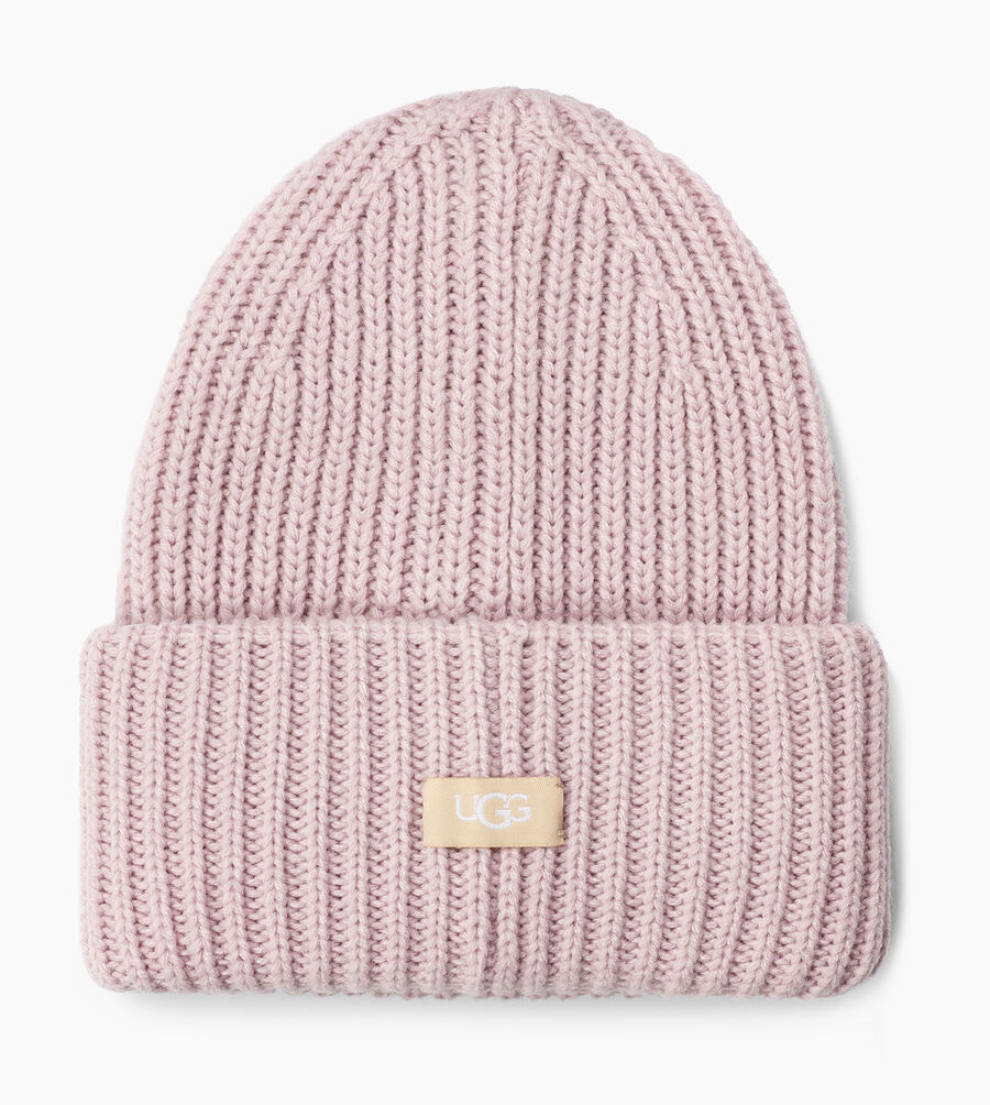 Rib Knit Cuff Hat - Image 2 of 2