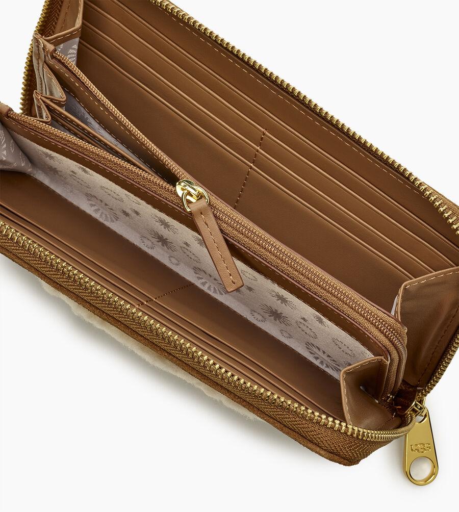 Honey Sheepskin Wallet - Image 4 of 5