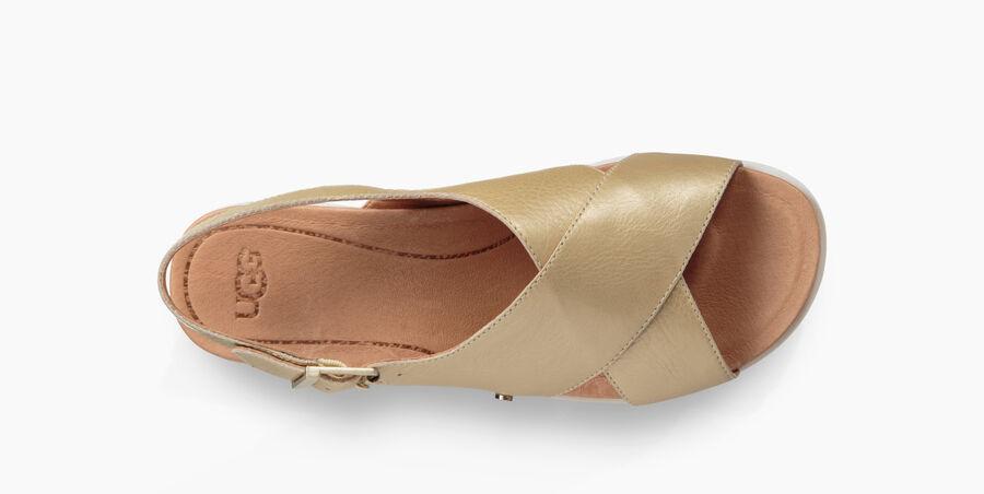 Kamile Metallic Sandal - Image 5 of 6