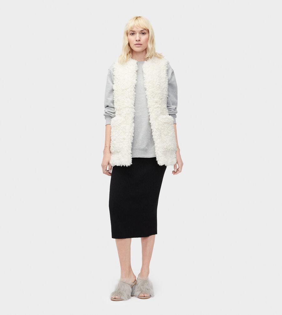 Farrah Faux Fur Vest - Image 3 of 4