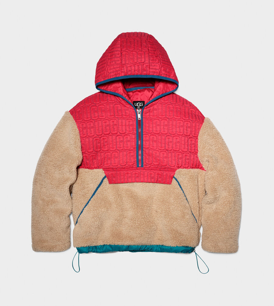 Iggy Sherpa Half Zip Pullover - Image 5 of 5