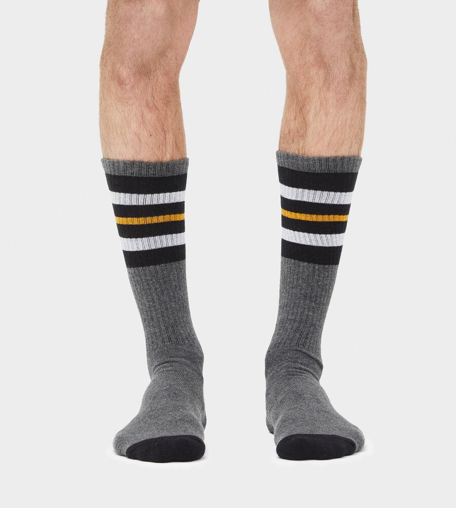 Three Stripe Crew Sock - Image 2 of 3
