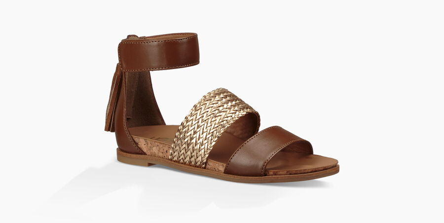 Marabel Metallic Sandal - Image 2 of 6