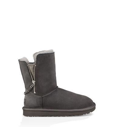 Classic Short Sparkle Zip Boot