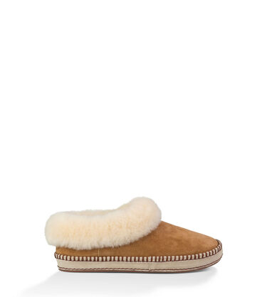 어그 여성 슬리퍼 UGG Wrin Slipper,CHESTNUT