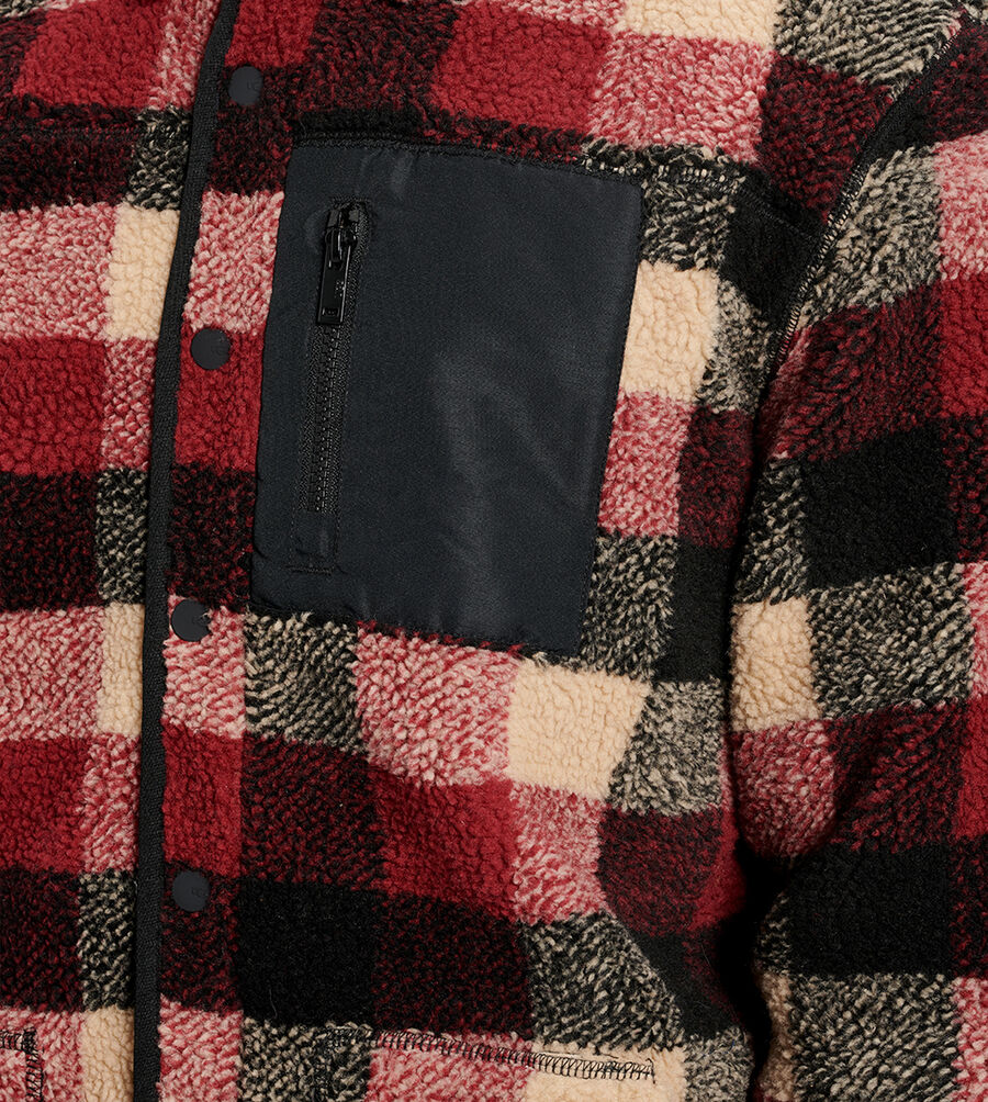 Keefe Sherpa Jacket - Image 5 of 6