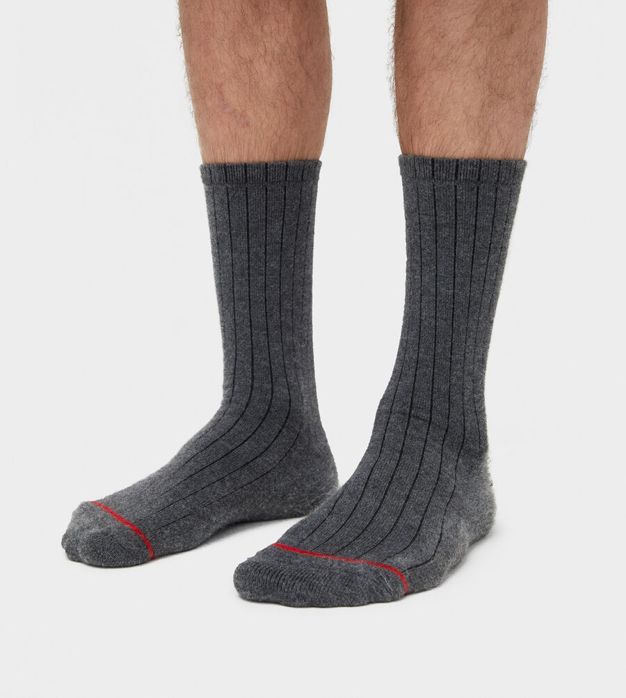 Classic Ribbed Crew Sock - Image 1 of 2