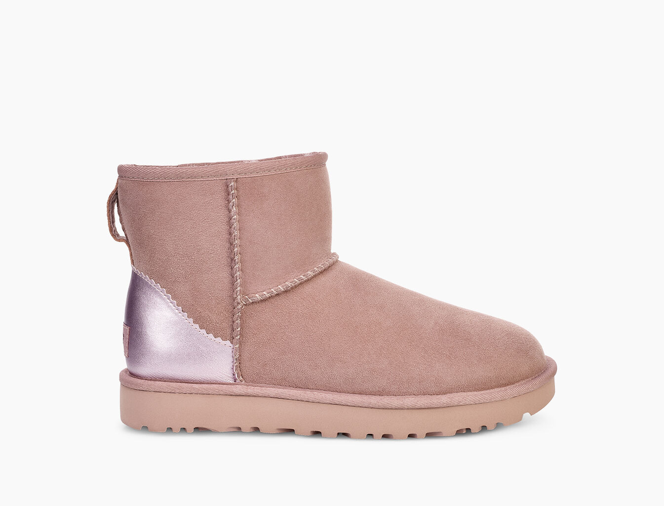 ugg classic mini 2 metallic