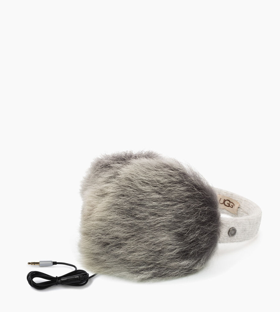 Wired Luxe Earmuff with Toscana Fur - Image 2 of 3