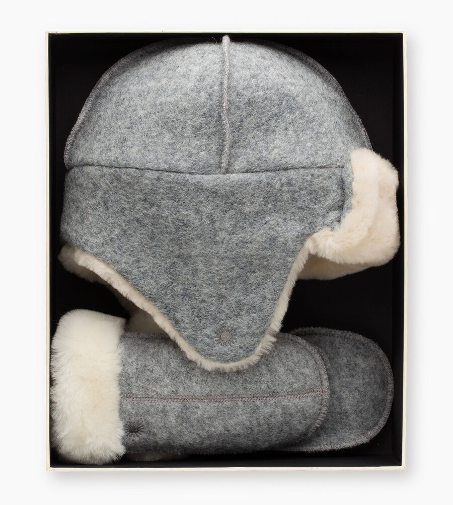 Wool Trapper / Mitten Gift Set - Image 3 of 3
