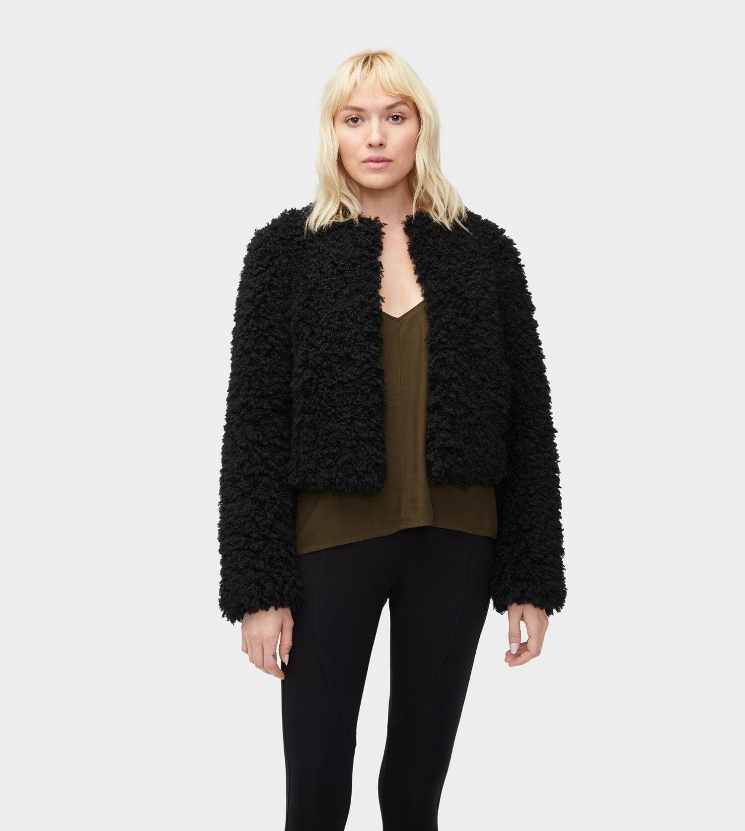 696df448371b Zoom Lorrena Faux Fur Jacket - Image 1 of 5