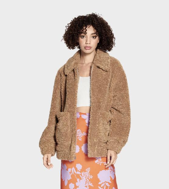 Kaley Teddy Bear Jacket