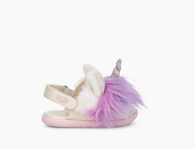 5e621d833946 Zoom Rainbow Unicorn Sandal - Image 2 of 6