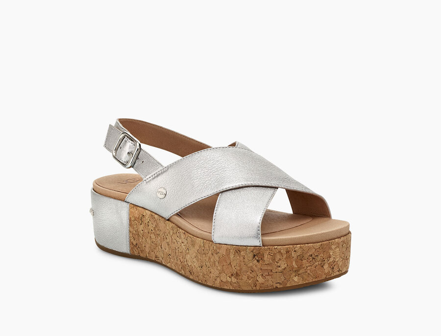 Shoshana Metallic Sandal - Image 2 of 6