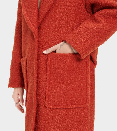 Hattie Long Oversized Coat Alternative View