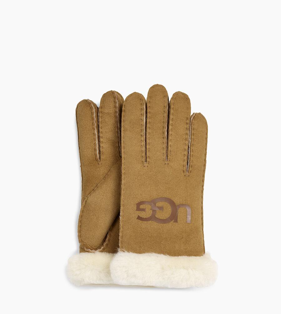 Sheepskin Logo Glove - Image 1 of 2