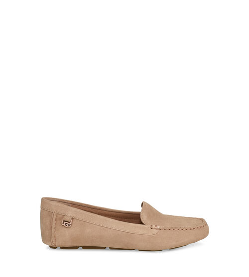UGG Womens Flores Flat Suede In Arroyo, Size 12