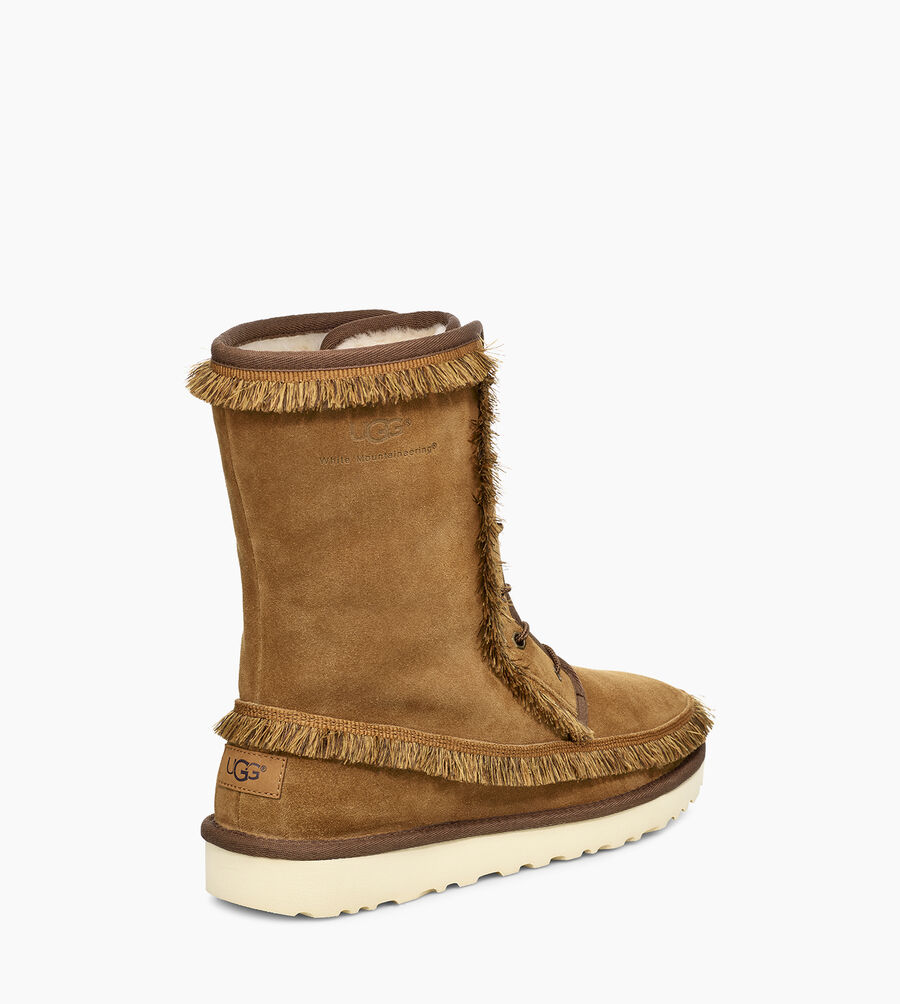 Riki Lace Tall White Mountaineering Boot - Image 4 of 6